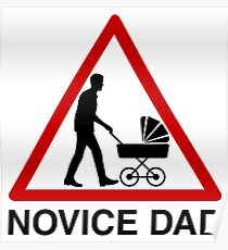 Novice dad Poster