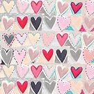 heart patchwork by Jo Cave  (cavecorner)