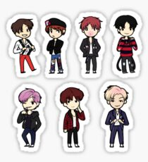 BTS War of Hormones Sticker Set Sticker