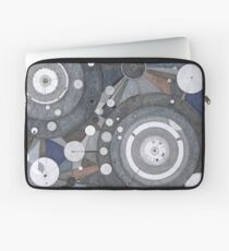 Singularity Fugue, ink and mixed media on paper Laptop Sleeve