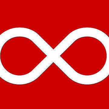 Red Métis Flag by abbeyz71