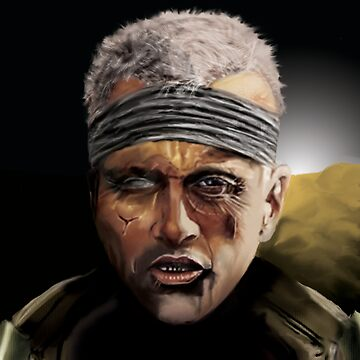 Potrait: Rutger Hauer by indi