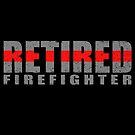 Pensionierter Feuerwehrmann - Thin Red Line - Feuerwehrmann-Geschenk von bluelinegear