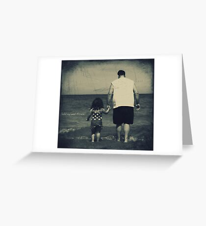 hold my hand...forever Greeting Card