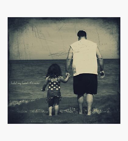 hold my hand...forever Photographic Print