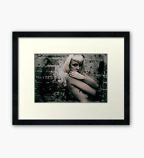 Dark Decay Framed Print