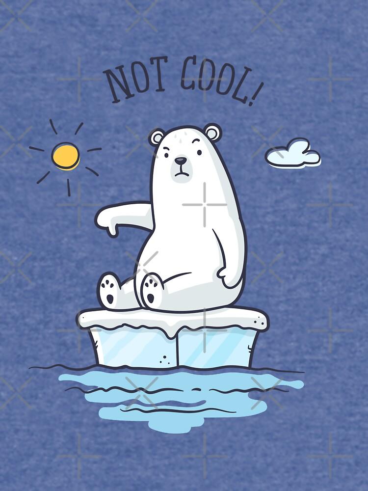 «Polar Bear - Le réchauffement climatique n'est pas cool!» par zoljo