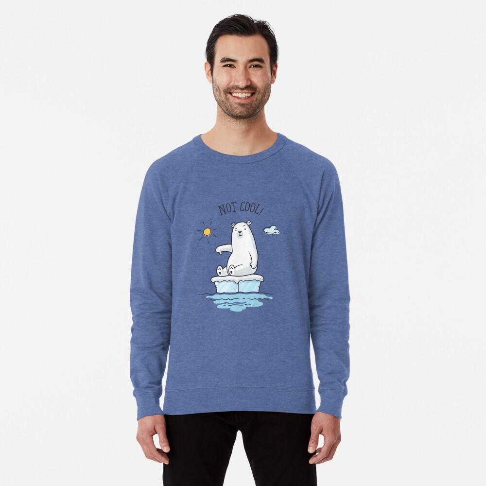 Sweatshirt léger «Polar Bear - Le réchauffement climatique n'est pas cool!»