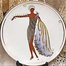 Art Deco Plate by Chet  King