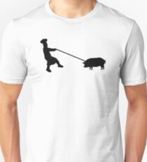 Chef and pig T-Shirt
