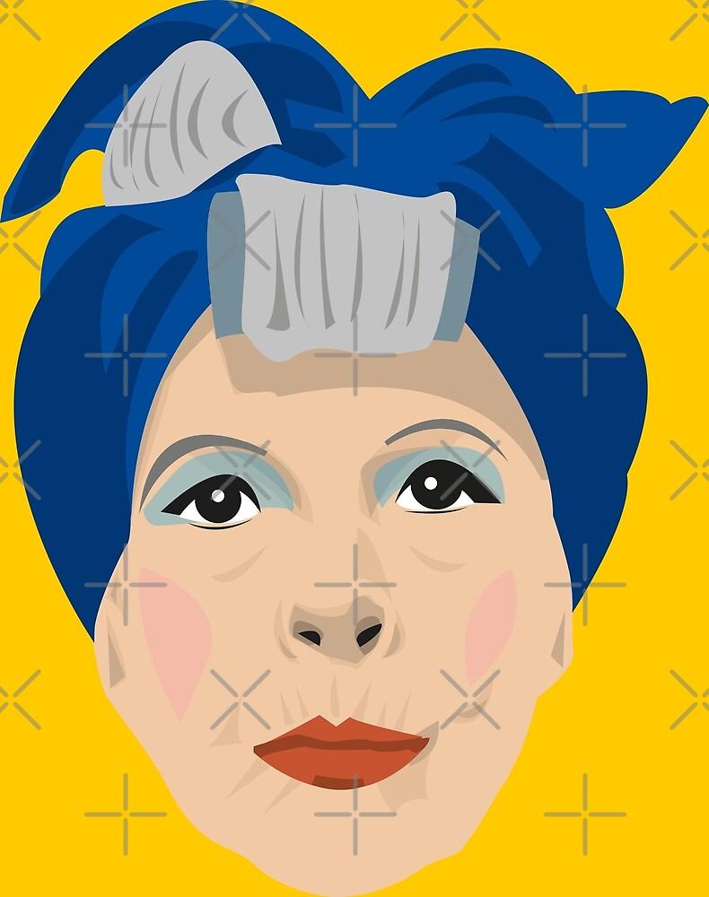 Minnie Castevet by gregs-celeb-art