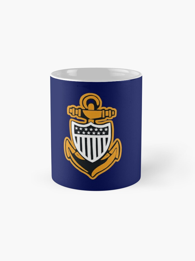 Alternate view of CG Chief Petty Officer Anchor II Mug