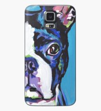 Boston Terrier Bright colorful pop dog art Case/Skin for Samsung Galaxy