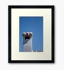 Spanish chimney, Casares Framed Print