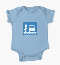 VW Vanagon Camping One Piece - Short Sleeve