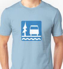 VW Vanagon Camping T-Shirt