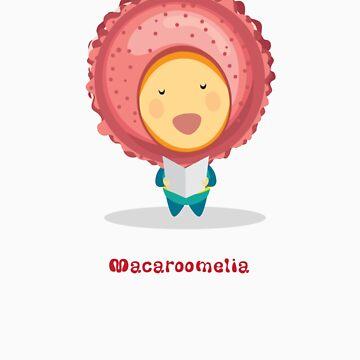 Macaroomelia (Strawberry) from Dessertelia Choir by MissKoo