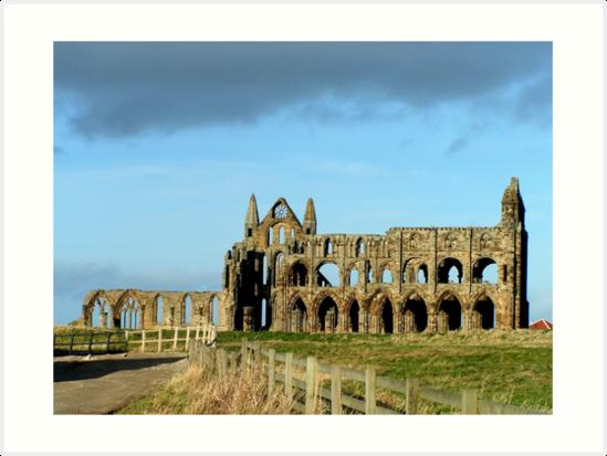 Whitby Abbey ruined yet still glorious by patjila