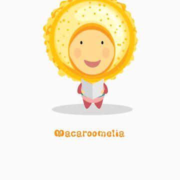 Macaroomelia (Mango-Passion Fruit) from Dessertelia Choir by MissKoo