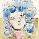 She Loved Her Blue Hair by Filomena Jack