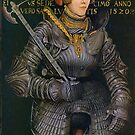 German knight in elaborate Suit of Armor by edsimoneit