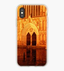 York Minster Portal by night iPhone Case