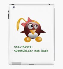Geek Chick iPad Case/Skin