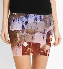 town with lights Mini Skirt