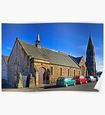 Parish Church, Broxburn Poster