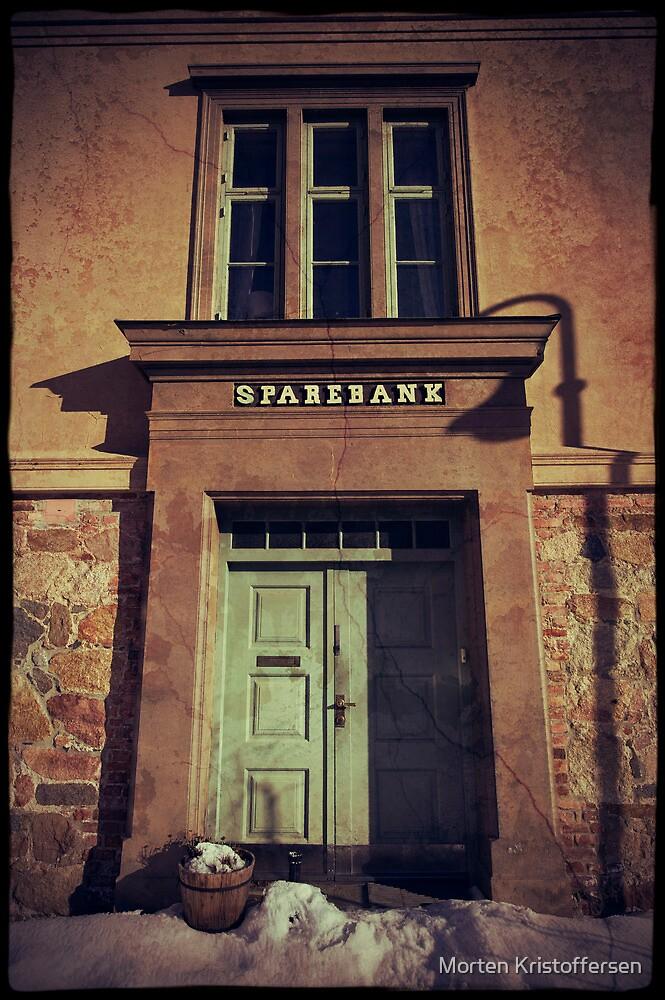 Old Town saving Bank by Morten Kristoffersen