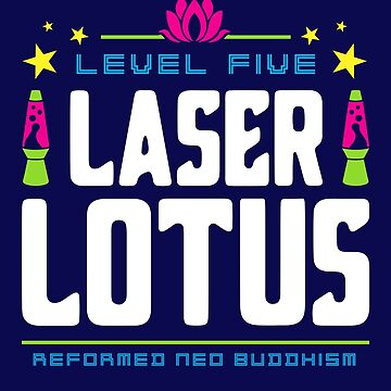 Level Five Laser Lotus by machmigo