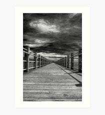 The Vanishing Point Art Print