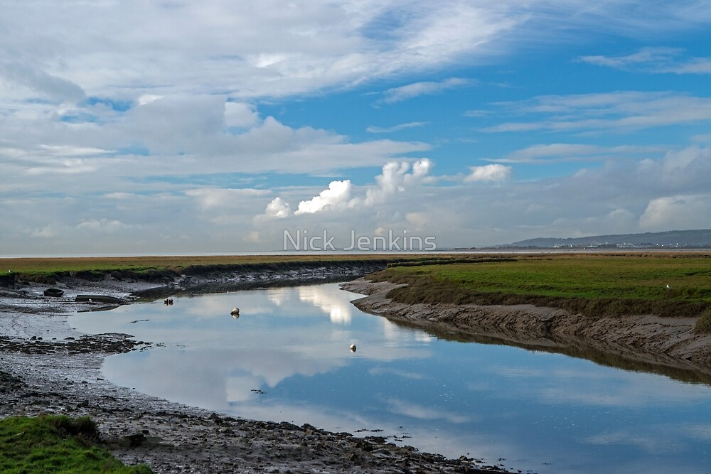 Penclawdd on Gower  by Nick Jenkins