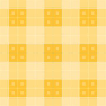 Geometric Pattern: Button Weave: Light/Yellow by redwolfoz