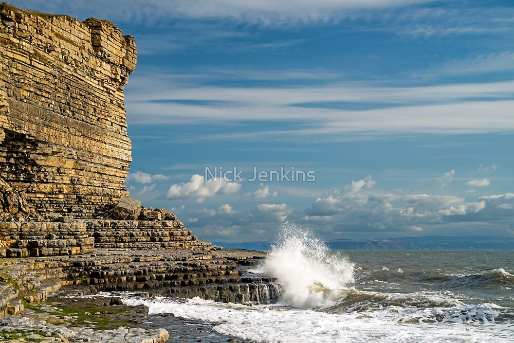 The Golden Cliffs by Nick Jenkins
