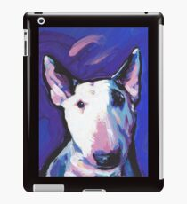 Bull Terrier Dog Bright colorful pop dog art iPad Case/Skin