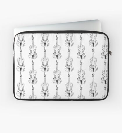 Violine mit Noten Laptoptasche