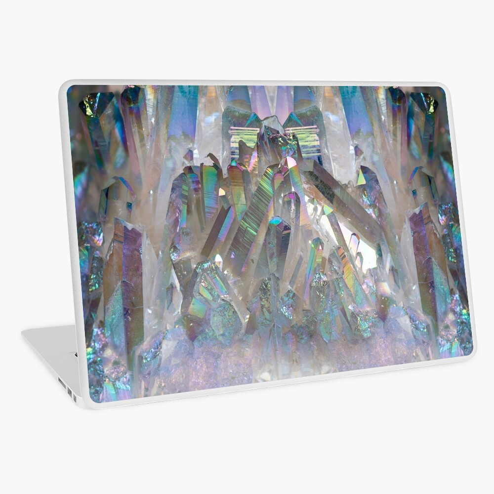 Rainbow Holographic  Laptop Skin