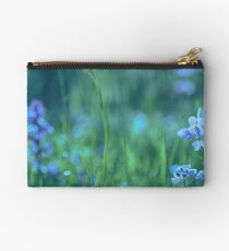 Blue Spring Flowers Studio Pouch