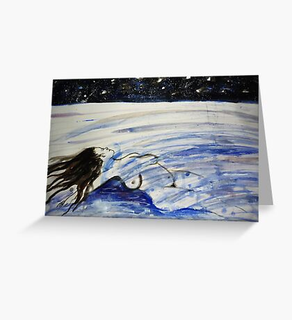 FLOAT and Ache Greeting Card
