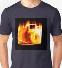 Burn camera burn Unisex T-Shirt