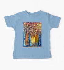 Poplars at daybreak Baby Tee