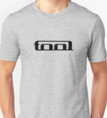 Tool band clean logo. Black on white tool logo. Unisex T-Shirt