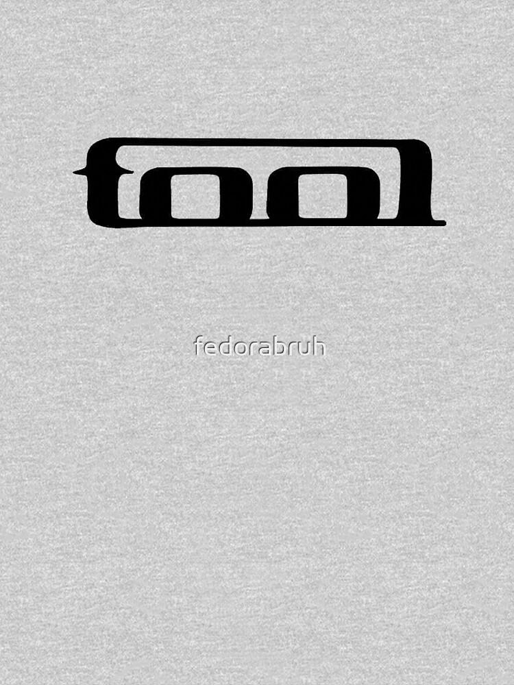 Werkzeugband sauberes Logo. Schwarz auf weißem Werkzeuglogo. von fedorabruh