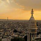 Parisienne Sunset by Clayton  Turner