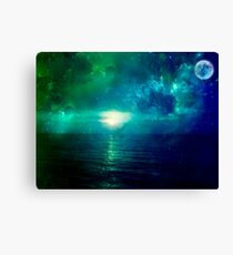 close your eyes and dream  Canvas Print
