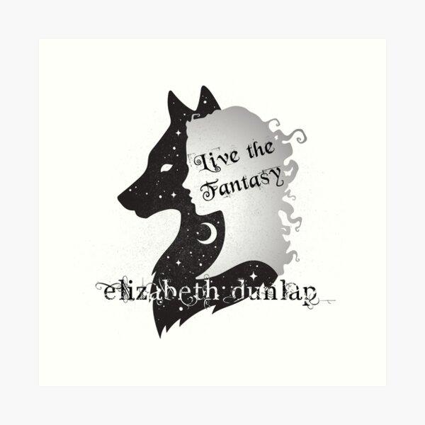 Elizabeth Dunlap Author Logo Art Print