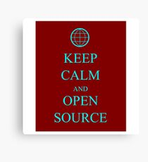 Keep Source Canvas Print