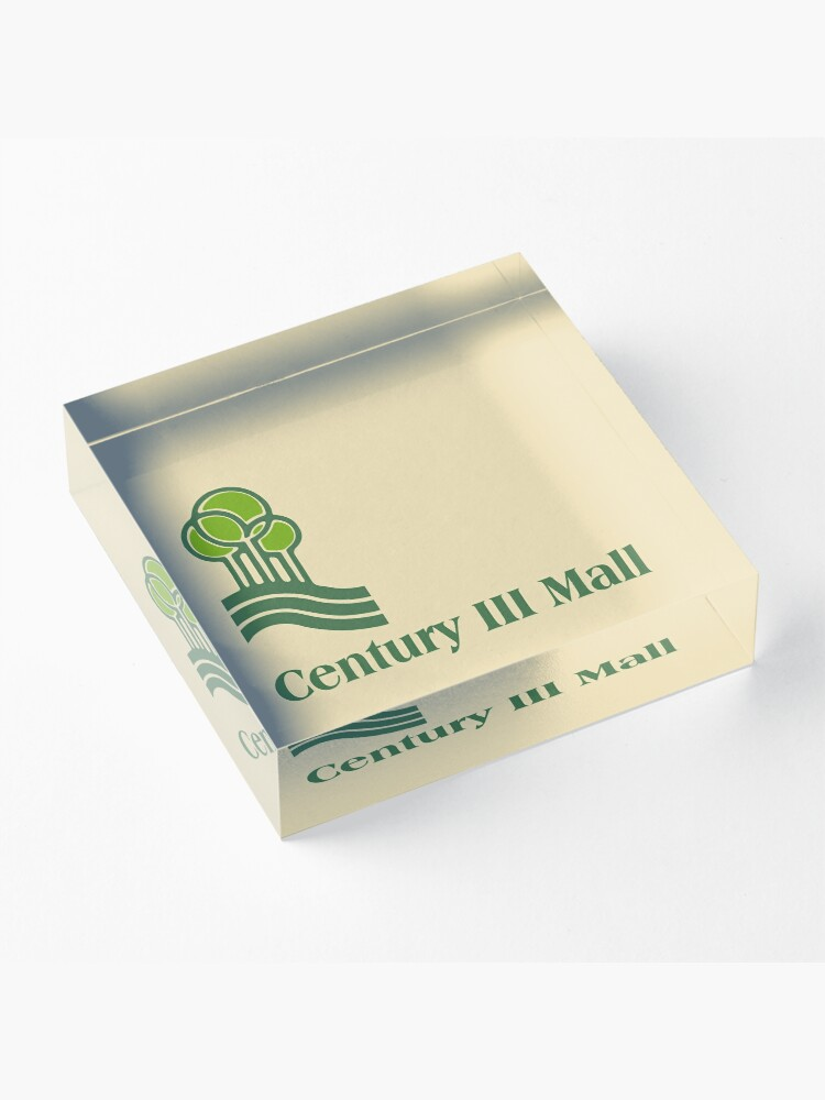 Alternate view of Century III Mall (Dead Malls) – Alternate Version Acrylic Block