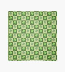 Shamrock Checkerboard Pattern Scarf